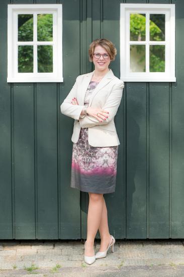 Immobilienmaklerin Savina Reuter